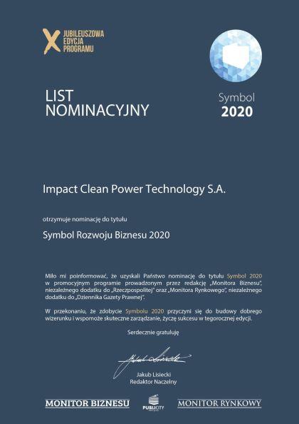 Impact lauretatem projektu SYMBOL 2020